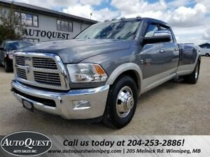 2010 Dodge Ram 3500 Laramie Dually - 6sp Manual, 6.7L Cummins Di