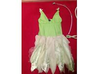 Disney Tinker Bell costume. Size 8/10.