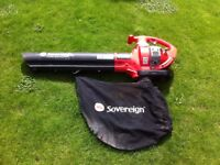 Sovereign petrol leaf blower.
