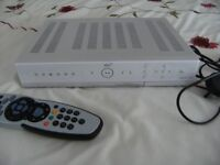 SKY + BOX WITH LEAD AND REMOTE