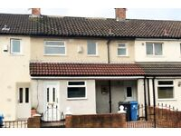 L32, Kirkby, 4 bed house, Large Garden, Conservatory, New Kitchen, Bathroom, Carpet and Laminate.