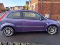 FORD FIESTA 1.2 ZETEC CLIMATE MOT'D READY TO GO GREAT DRIVING CAR SWAP ASTRA VAN