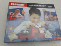 playmat 4in1 workshop wood craft