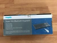 Maplin Super Mini Bluetooth Keyboard for Sale