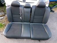 Honda civic 5door rear half leather seats 2003/2005