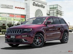 2016 Jeep Grand Cherokee SRT | ONE OWNER | LESS THAN 10,000 KMS