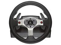 Logitech G25 Racing Wheel + Pedals