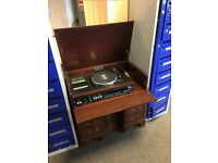 Antique Period High Fidelity Record/Tape player