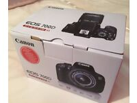 Brand New: Cameras Canon EOS 700D Digital SLR Camera with 18-55mm STM Lens