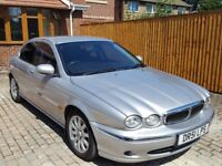 2003 Jaguar X-TYPE 2.5 V6 AUTO SE LPG BI FUEL GAS LOW MILES PX FOR 7 SEATER PRIVATE PLATE INCLUDED