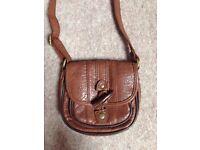 Topshop Brown Mini Bag