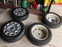 Mini one genuine michilen tyres