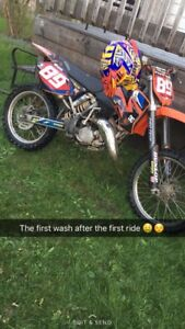 02' KTM 125 SX w/ papers ONLY TRADES