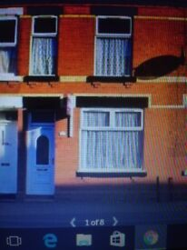 2 BED MID TERRACED UN FURNISHED HOUSE GORTON M18 7JT