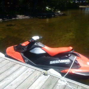 Two brand new 2017 Seadoo Sparks for trade or sale