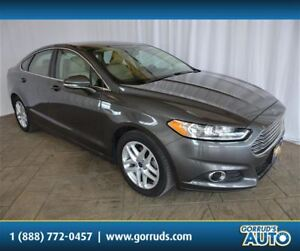 2016 Ford Fusion SE/LEATHER/BACKUP CAMERA/BLUETOOTH/4 NEW TIRES