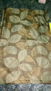 2 neutral curtain panels $15 takes set.