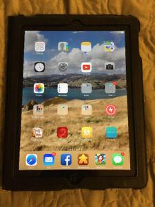 64 GB iPad with retina display Wifi+Cell, EarPods, Case