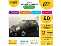 MINI COOPER 1.2 1.5 2.0 S D SEVEN ONE COUPE CHILLI PACK FROM £25 PER WEEK!