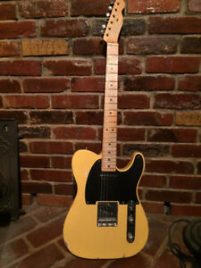 FENDER TELE ROAD WORN