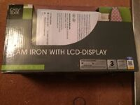 Easy Home Steam Irons With LCD-Display As New