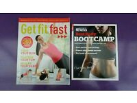 Two womens fitness magazines hints and tips