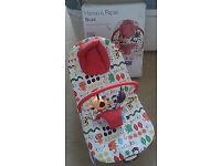 Lovely Unisex Baby Bouncer Mamas & Papas Buzz Hoppity Hoot with original box