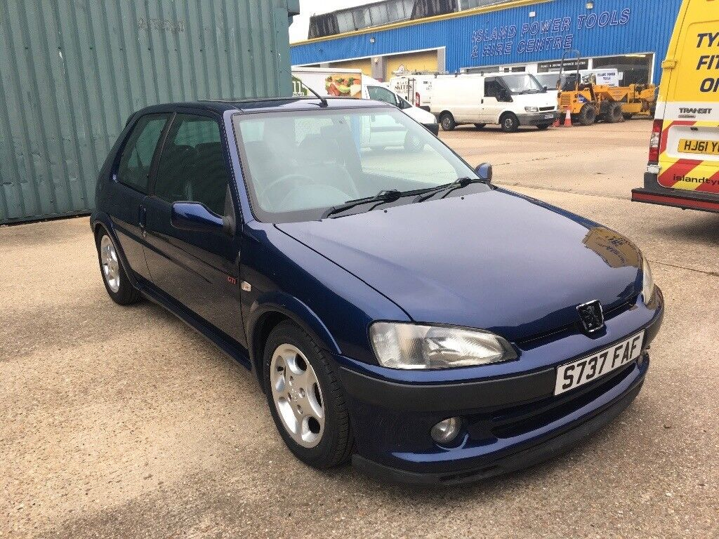 Peugeot 106 GTI china blue! Becoming rare now