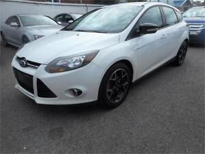 FORD FOCUS SE 2013 ( BLUETOOTH, CUIR 2 TONS, MANUELLE )