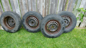 Goodyear 205 70r15 winter snow tires