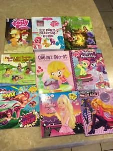 Lot of girl books