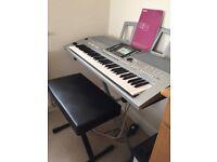 Yamaha PSR S910 electric keyboard. As new.