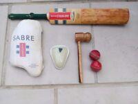 Cricket items set £50