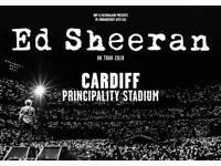 Ed Sheeran Tickets - Cardiff