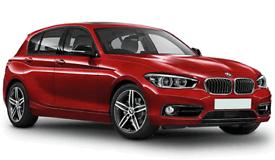 BMW 1 SERIES 116d EfficientDynamics (silver) 2014