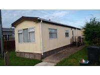 Residential Park Home on Semi Retired Park Near Bristol Airport for over 50's only.