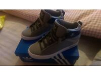 Grey adidas originals size 3 brand new