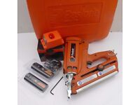 PASLODE IM350 FIRST FIX NAIL GUN- SILVER PROBE, CASE+ACCESSORIES,12 MONTHS WARRANTY