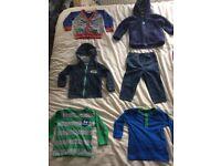 Bundle 12-18 months Good Condition Brands include Blue Zoo, DC Comics - Batman M&S ect