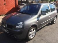Renault Clio 1.2 16v 12months MOT
