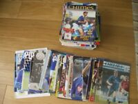 over 100 portsmouth football match day programmes