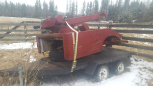 Vulcan tow truck recovery deck twin winches