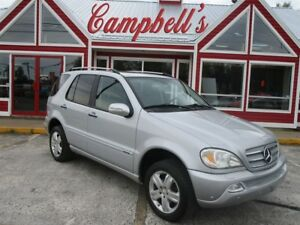 2005 Mercedes-Benz M-Class Classic AWD SUNROOF HTD LEATHER ALLOY