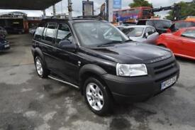 Land Rover Freelander 2.0Td4 auto 2003MY ES LEATHER INT SUN ROOF AUTOMATIC