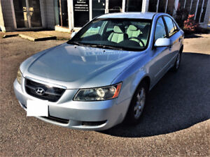 2007 Hyundai Sonata GLS Sedan Safety! E-Tested! New Brakes Rotor