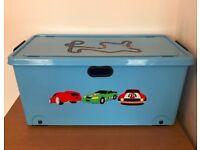 Next Car Track Trunk Large Wheeled Storage Box