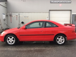 2001 Honda Civic si Coupe (2 door)