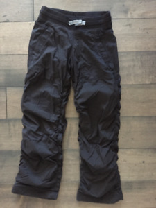 Ivivva Lined Live to Move pant- Size 7