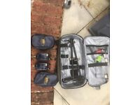 Complete set of fishing gear