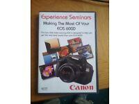 Canon eos seminar cd for 600d camera